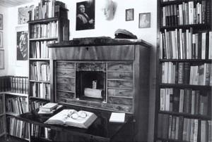 Mühlbergerova pracovna v literárním archivu v Lautern